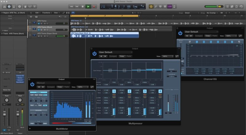 Mastering the Asana for Bloggers Theme Music in Logic Pro X