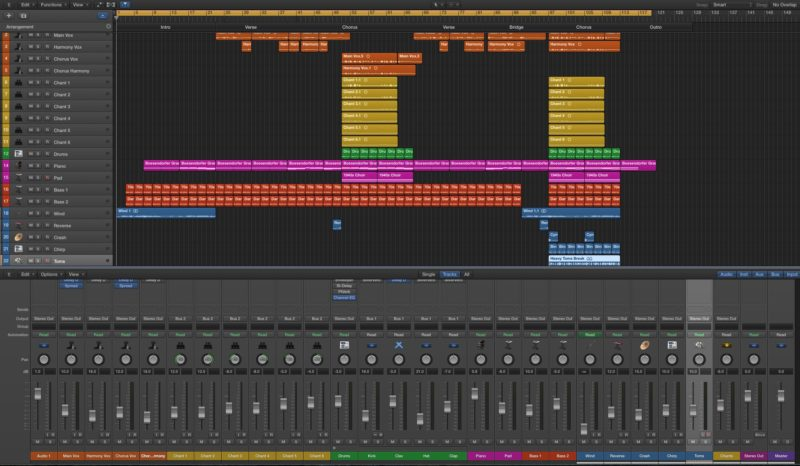 For You Logic Pro Screenshot