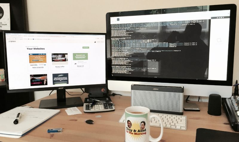 Dual Monitors for Coding