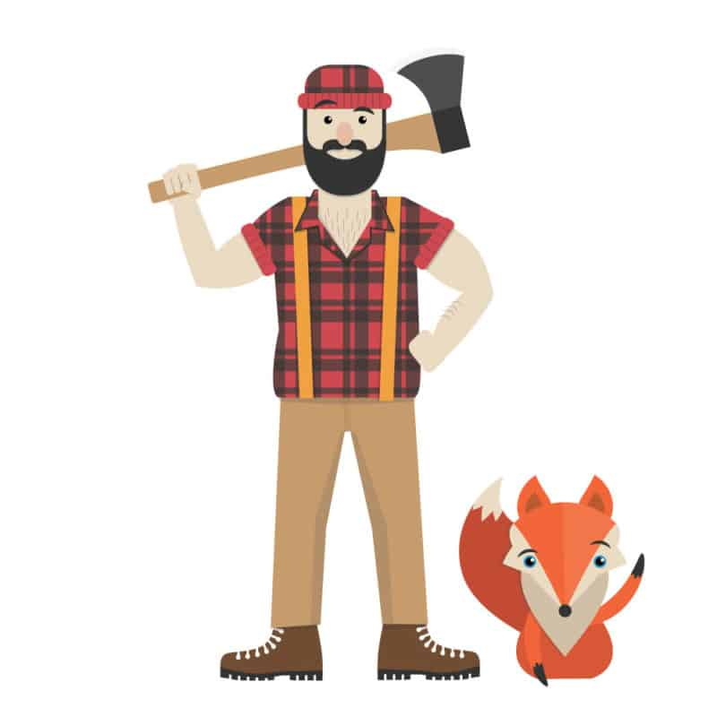 The Lumberjack with Scout