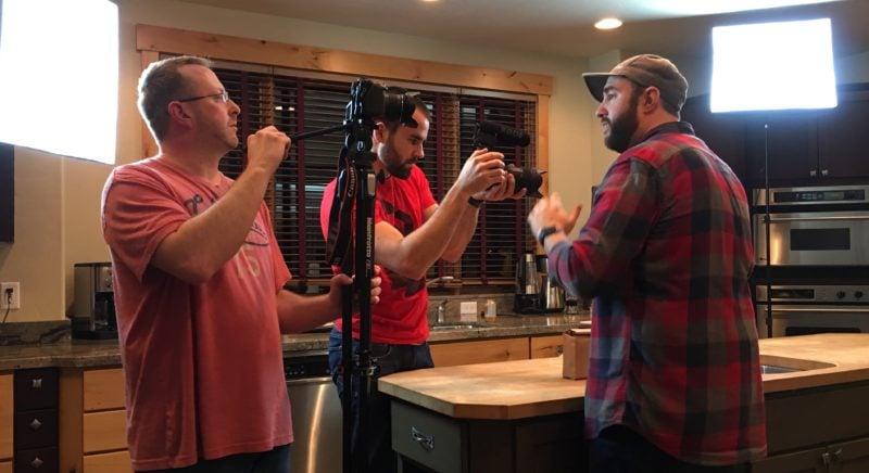 Matt and Thomas Filming Me