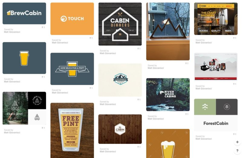 Secret Pinterest Board for Brew Cabin