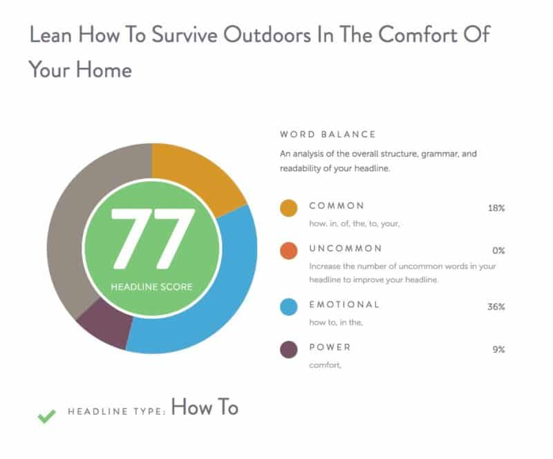 LEARN HOW TO SURVIVE OUTDOORS IN THE COMFORT OF YOUR HOME
