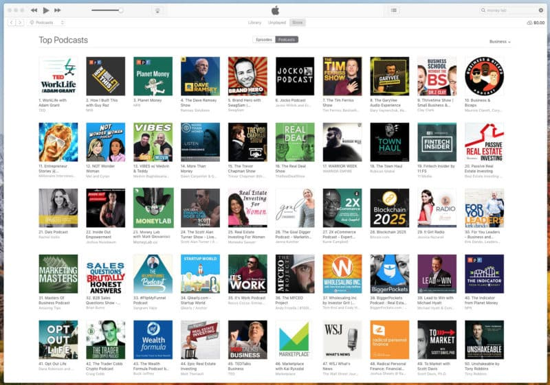 Money Lab iTunes