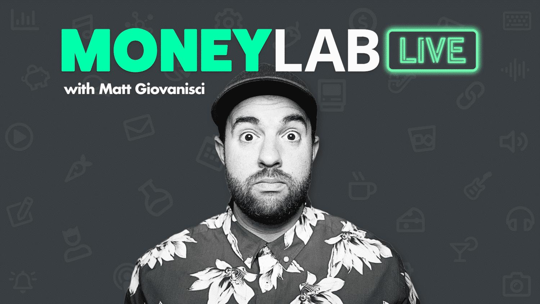 Money Lab Live Title Card