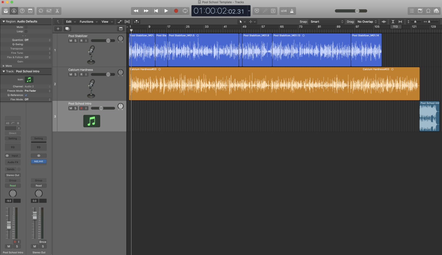 Podcast Recording and Editing in Logic Pro