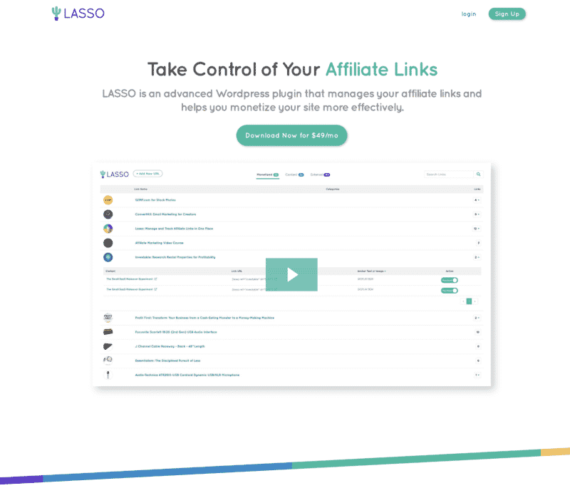 Lasso Sales Page Video