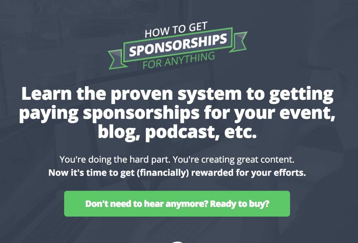 Get Sponsorships