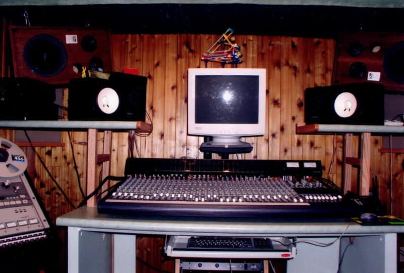 Basement Recording Studio