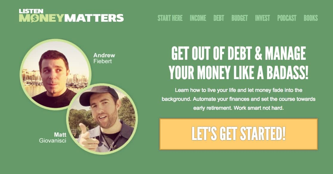 Listen Money Matters Redesign